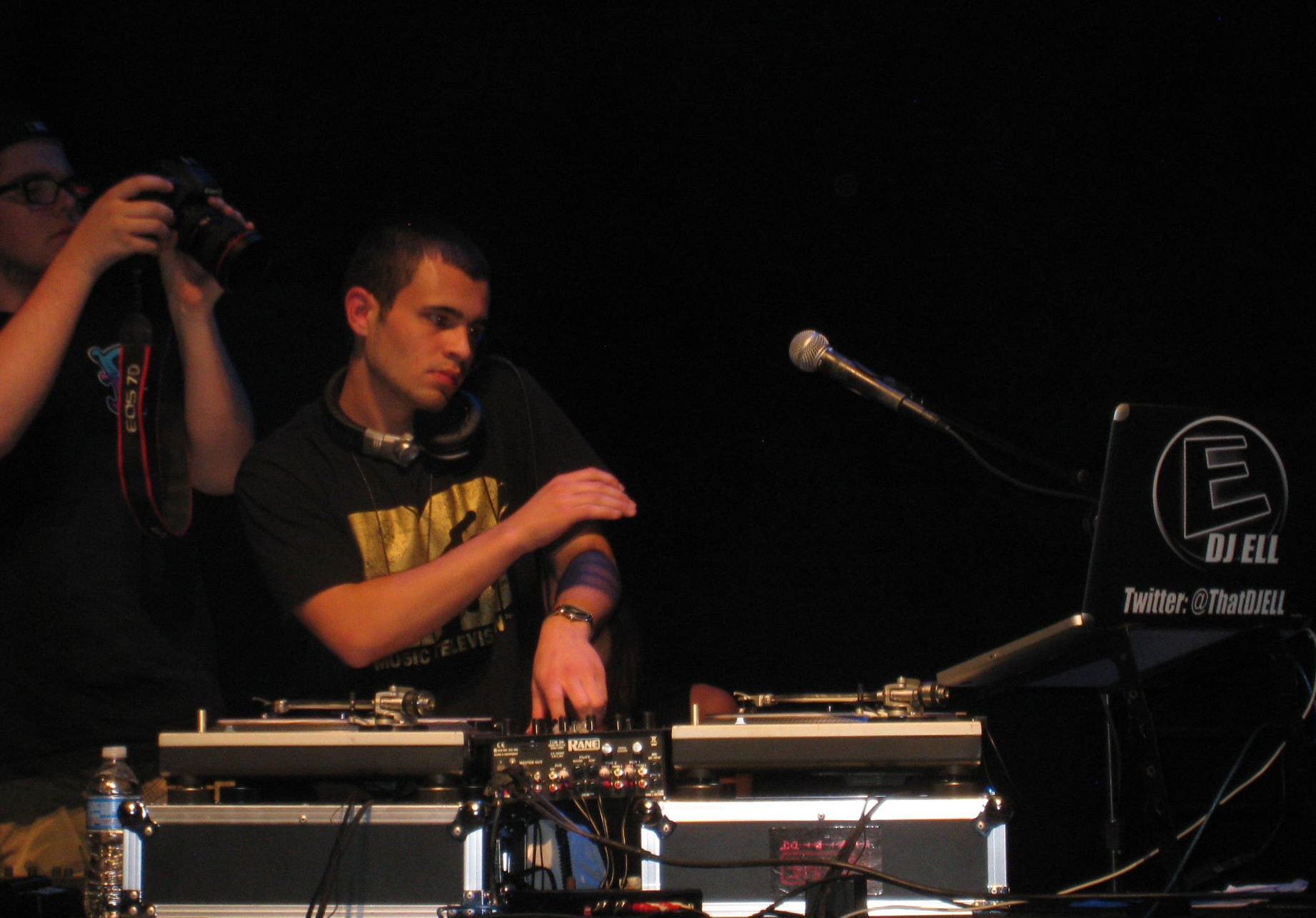 DJ Ell at the Power Center Ann Arbor Michigan Breakin' Curfew 2012