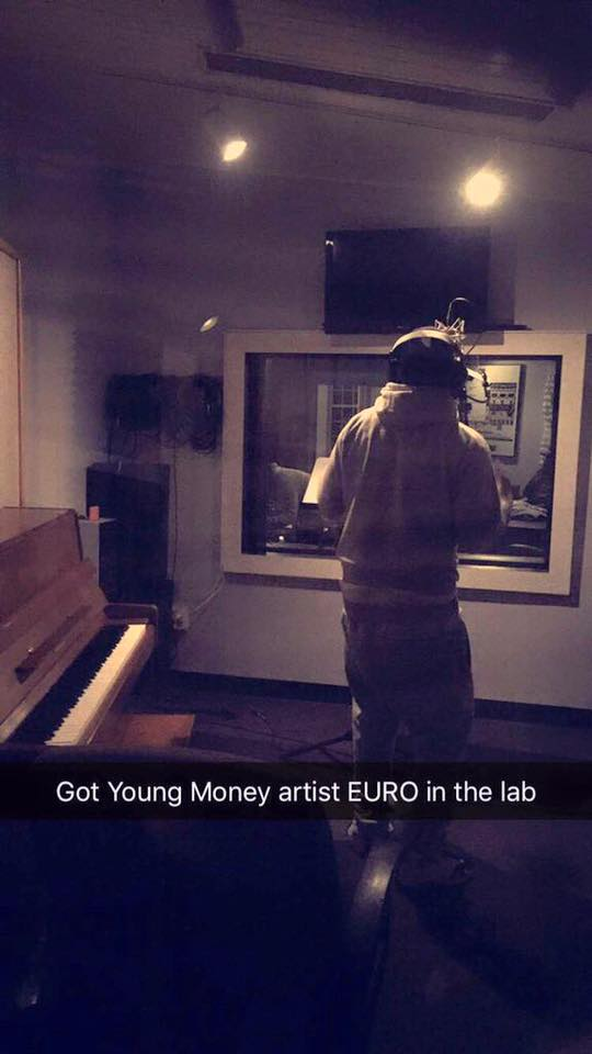 Young Money Artist EURO Cybersound Studio Boston