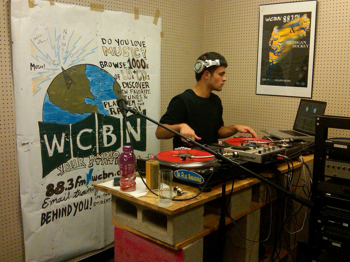 DJ Ell WCBN The Prop Shop