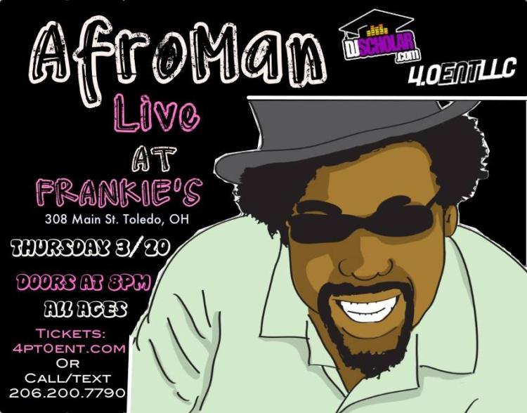 Afroman DJ Ell Frankie's Toledo, Ohio