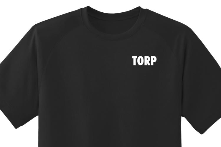 Black-Tee-Shirt-LEFT-PEC Top
