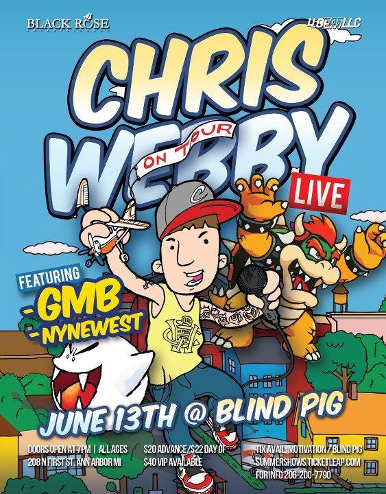 Chris Webby Tour