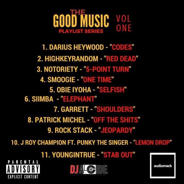 DJ Alcide Good Music Playlist Series Vol 1