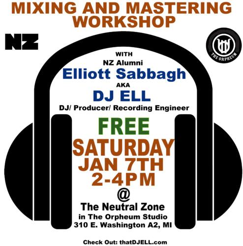 DJ ELL MixMasterClass Orpheum Studio