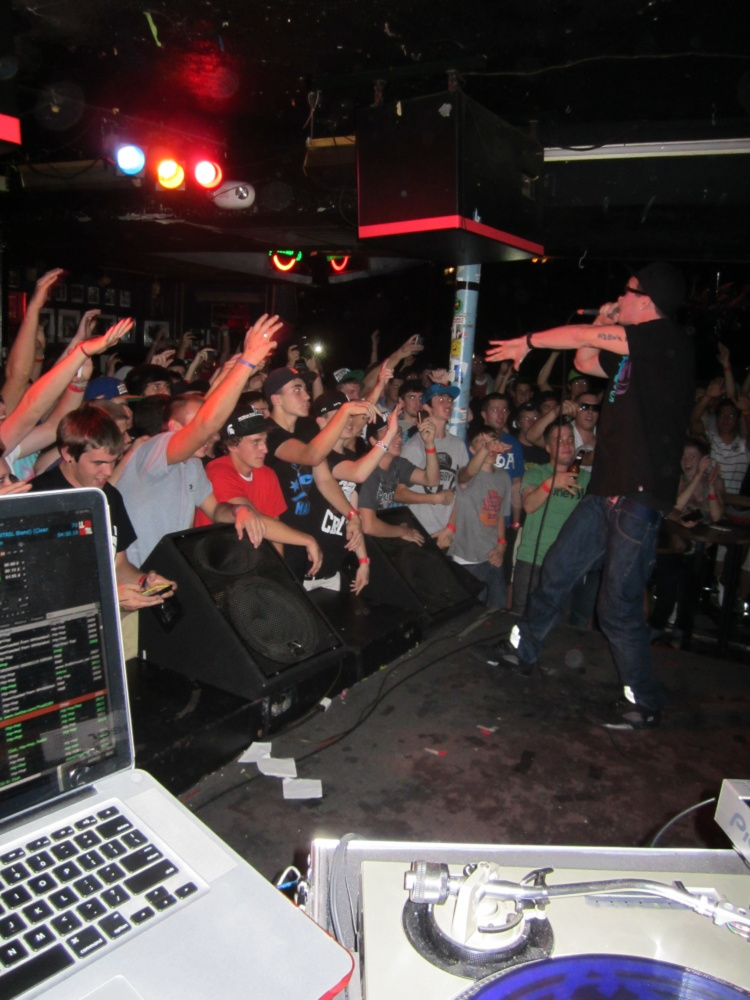 That DJ Ell at Chris Webby Concert