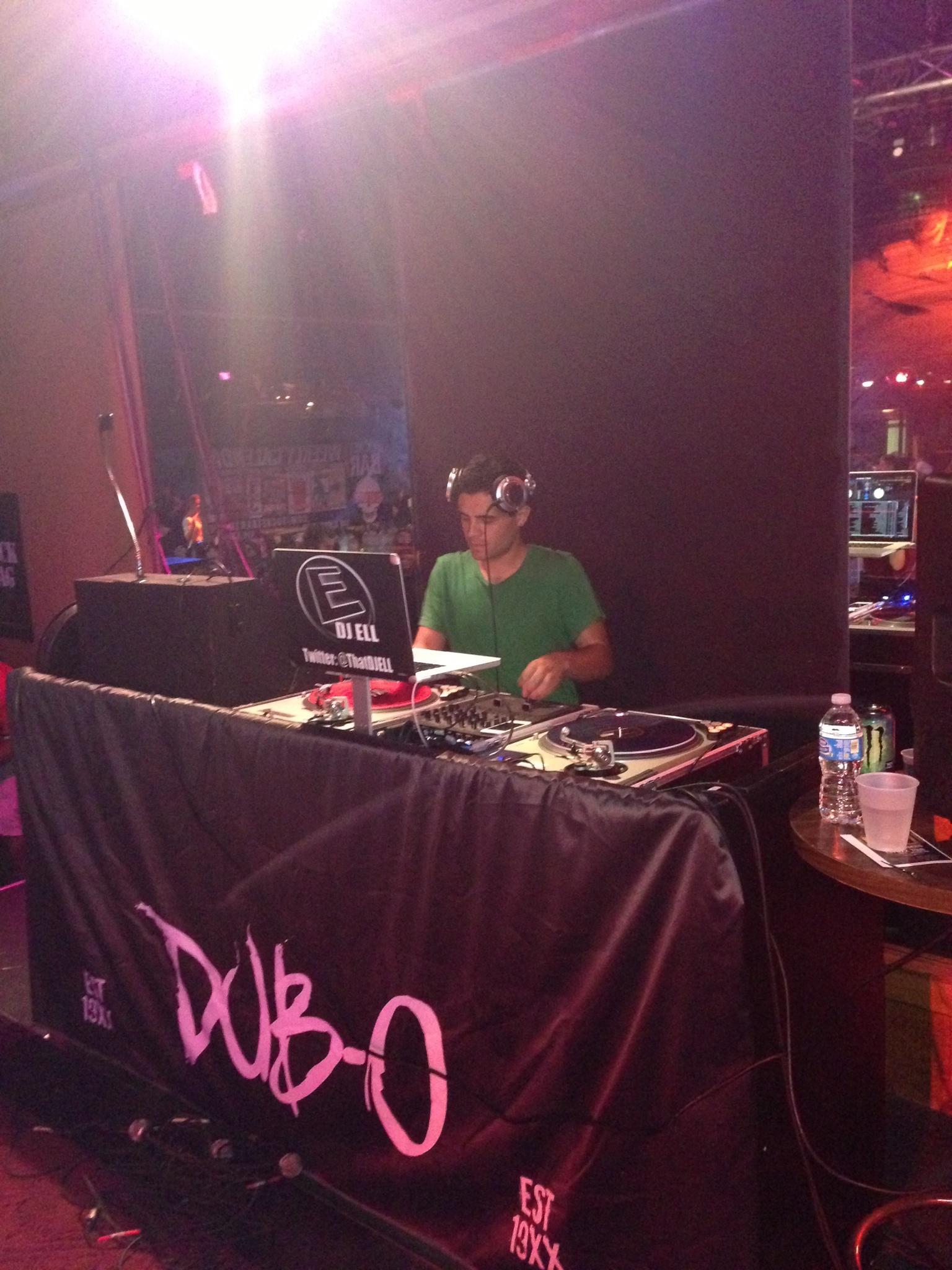 DJ Ell EST 19XX Dub-O MGK TOur