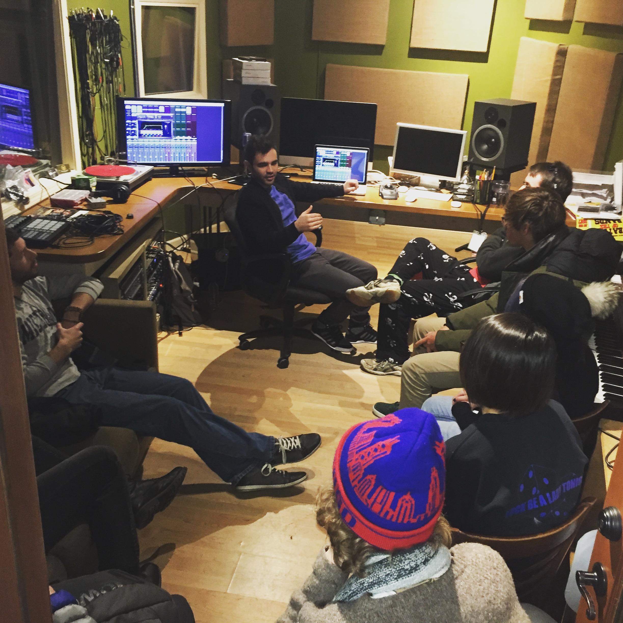 Orpheum Studio Workshop