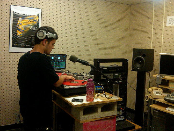 DJ Ell at WCBN The Prop Shop
