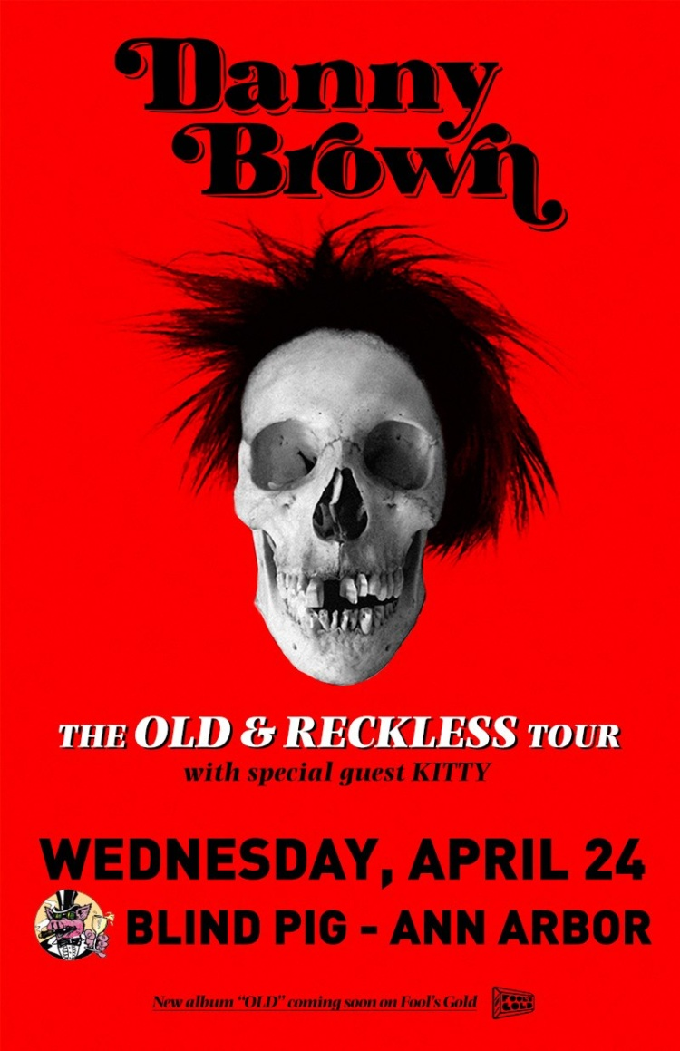 Danny Brown The Old & Reckless Tour DJ Ell