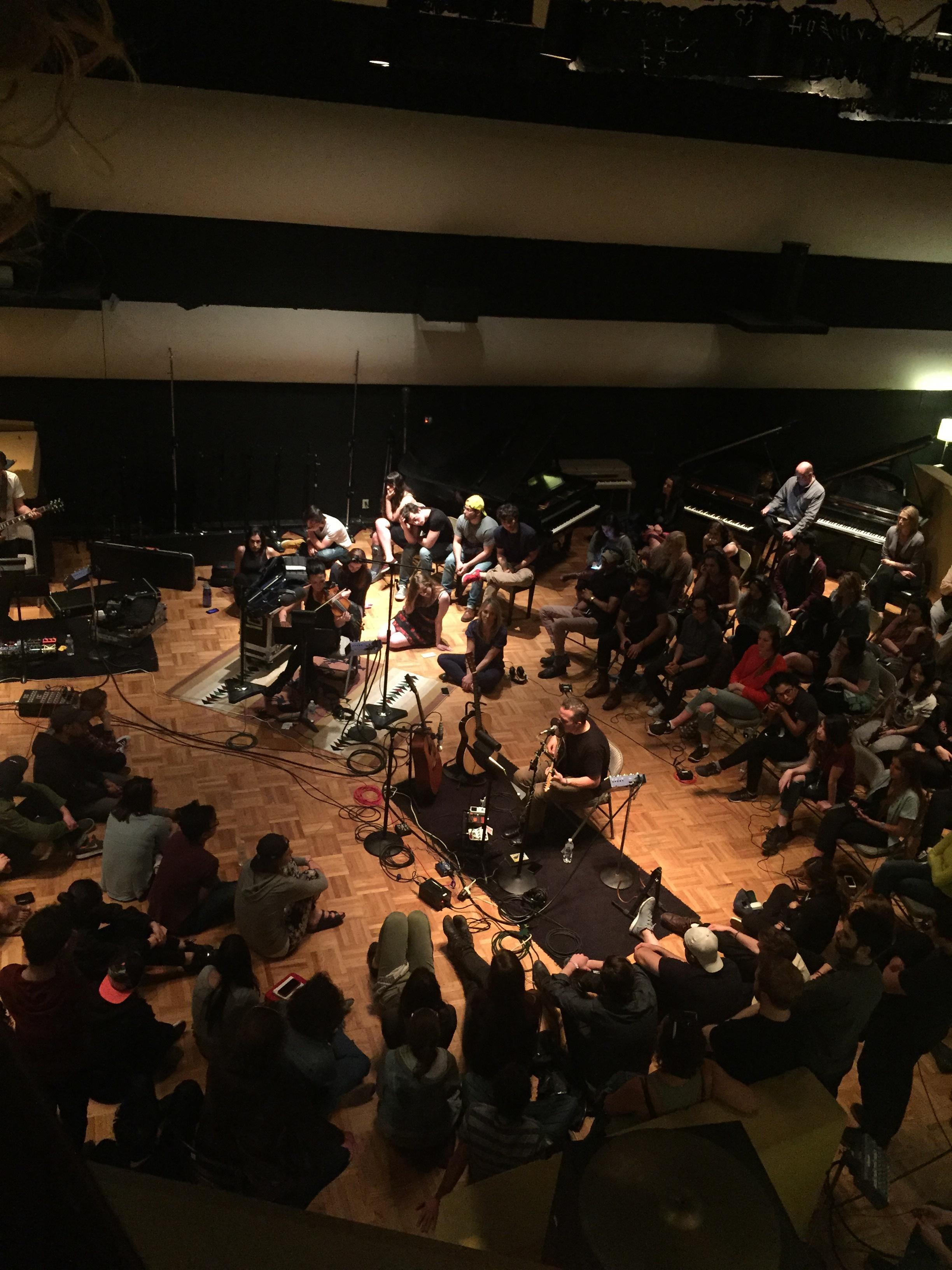 RCA Studio Nashville Live Room