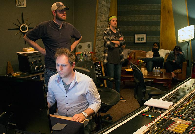 RCA Studio Control Room A