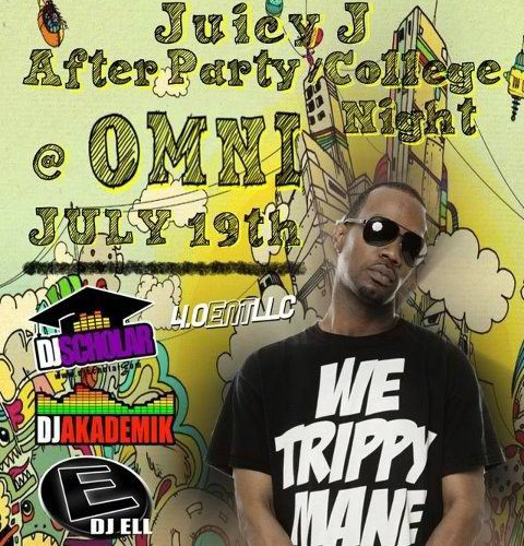 Juicy J After Party, Omni Toledo, DJ Ell