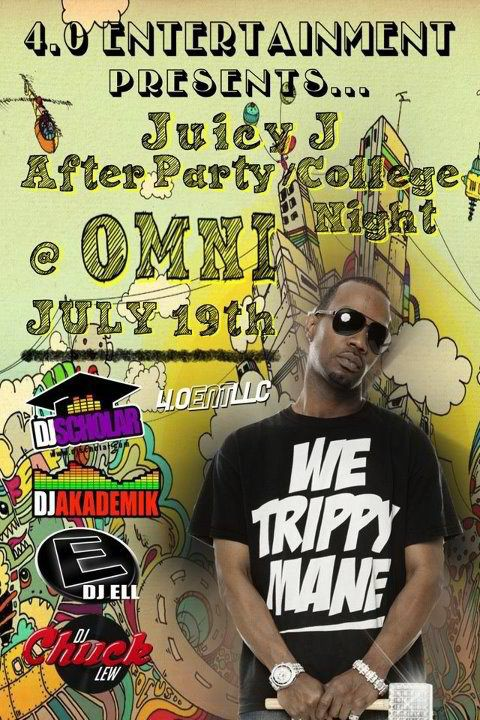 Juicy J After Party, Omni Toledo, DJ Ell