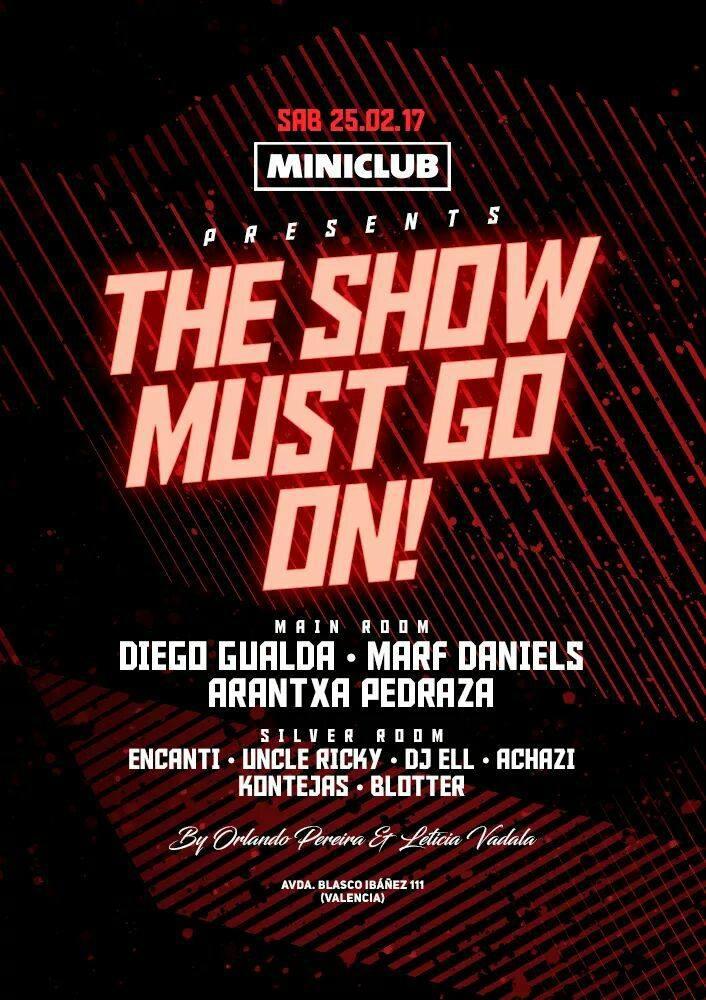 MiniClub Valencia Spain, DJ Ell, Encanti Flyer