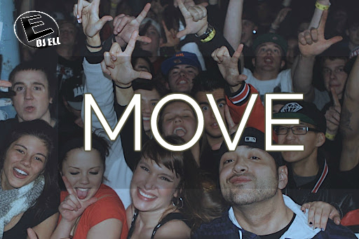DJ Ell - Move - Album Cover