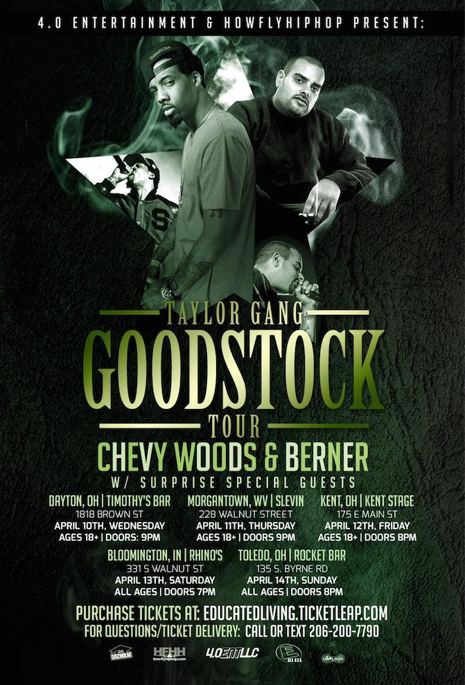 Taylor Gang Goodstock Tour