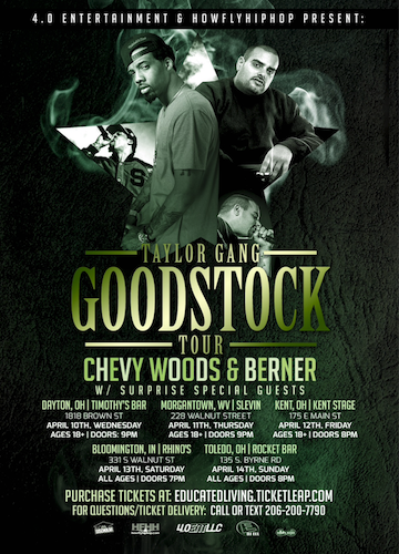 Taylor Gang Goodstock Tour with DJ Ell