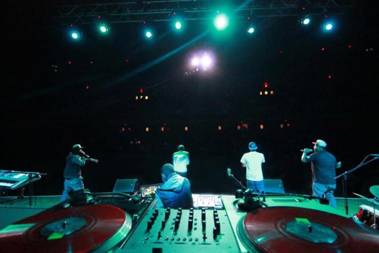 That DJ Ell at J. Cole Concert Hill Auditorium