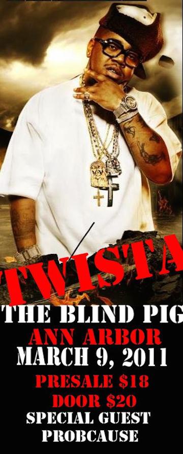Twista Blind Pig With DJ Ell