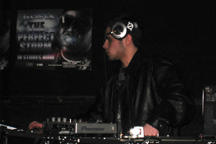 DJ Ell at Twista The Perfect Storm Tour